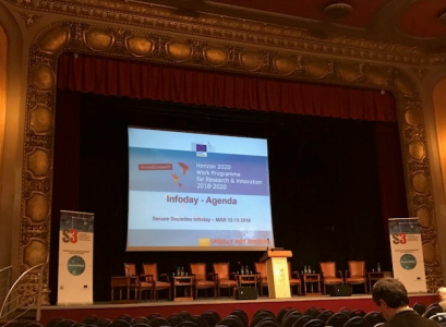 SICE has attended the Horizon 2020 Secure Societies European Info Day and Brokerage Event